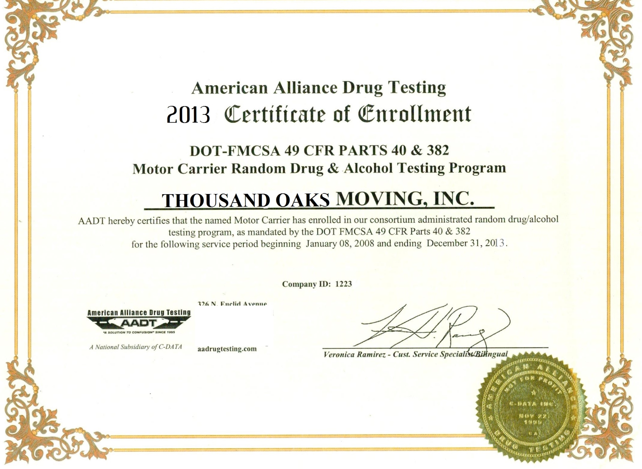 Drug Cert_Moving_TO