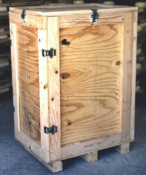 Wooden Crate_Tall